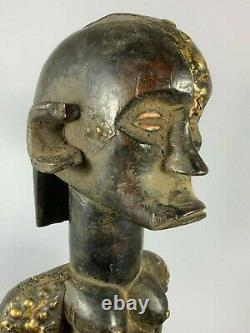 200928 Old & Tribal used African guardian byer statue from the Fang Gabon