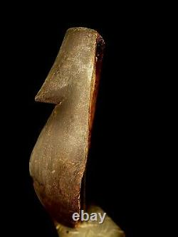 AFRICAN MASK LARGE Old african mask Ancient Dan Liberia Tribal art (2826 I)