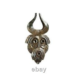 African Cameroon Tribal Art Wall Mask Exotic Sculpture