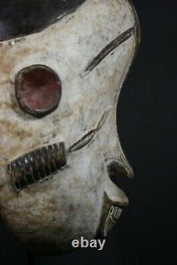 African Mortuary Face Mask IDOMA tribe, Nigeria, AFRICAN TRIBAL ART PRIMITIF