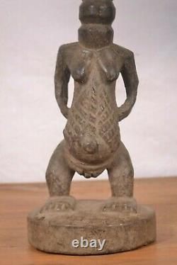 African Tribal Art, Amazing Luba Statue from DRC(Congo)