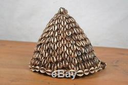 African Tribal Art, Lega-Hat-with-Buttons-Bwami-Society the region of sud/Kivu