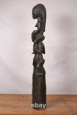 African Tribal Art, NICE tabwa trumpet from DRC Congo