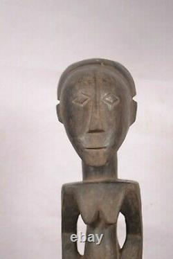 African Tribal Art, amazing bembe statue from DRC