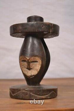 African Tribal Art, lega Statue from DRC. Congo