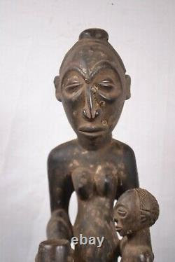 African Tribal art, Fantastic kusu statue statue from D R C