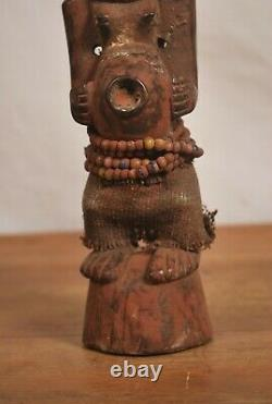 African Tribal art, Songye fetish statue from southern-DRC