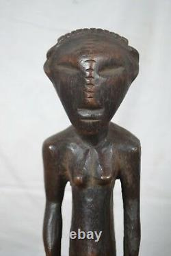 African Tribal art, blind zande statue from DRC, congo