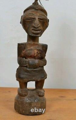 African art tribal, Beautiful songye fetish Statue from DRC