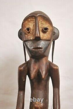 African art tribal, amazing Nande Statue from Democratic republic of congo