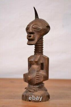 African art tribal, nice Songye statue from southern-DRC