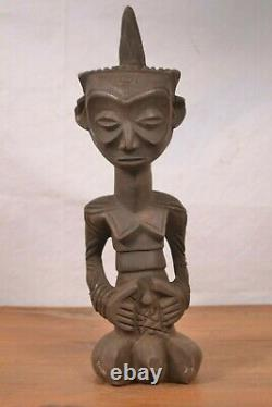African tribal Art Amazing ndengese statue from DRC