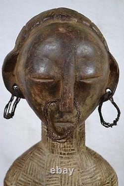 African tribal Art, very good kwele statue from DRC