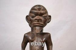 African tribal art. Nice Pende family statue from DRC
