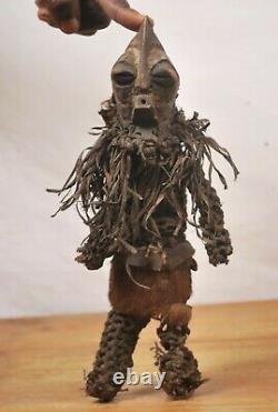 African tribal art, Songye Doll from Democratic Republic of Congo