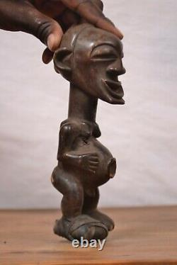 African tribal art, Songye statue from southern-DRC Congo