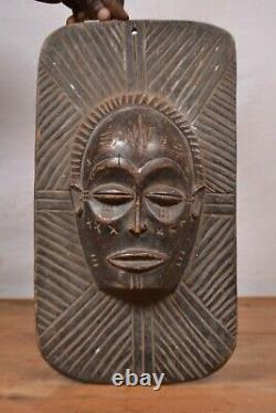 African tribal art, nice Chokwe frame from Democratic Republic of Congo