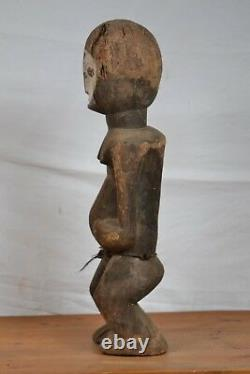 African tribal art, nice old lega statue from D R C