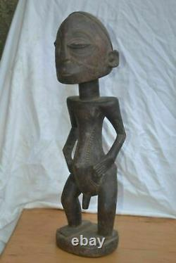African tribal art, tabwa statue from DRC. Congo