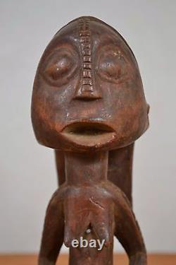 African tribal art, tabwa statue from DRC congo