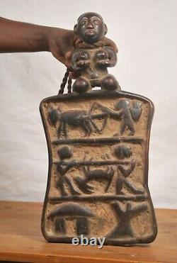 African tribal art, very fantastic Lukasa frame from DRC