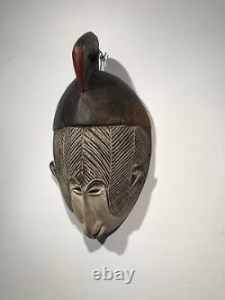 Antique Wooden African Tribal Mask