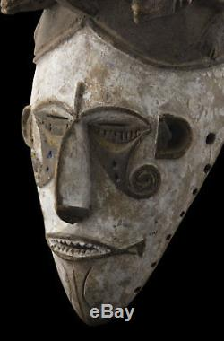 Antique mask African Igbo Ibo Abogho Mmuo Art tribale 16585