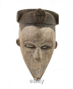 Mask African Ibo Nigeria Art Tribale First Primitive D'Africa 914