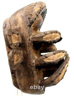 Art African Arts Tribal Awesome Mask Spider Beast 32,5 Cms