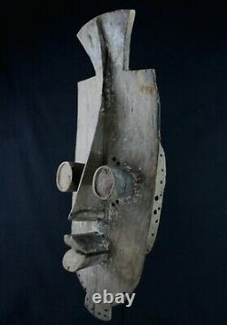 Art African Tribal First African Maske Masque Antique Grebo 61 Cms